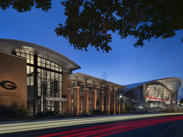 UGA Stegeman Coliseum Annex and Practice Facility