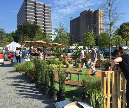 (PARK)ing Day Transforms Buckhead Parking Lots