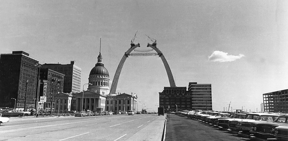 St. Louis Gateway Arch : [ THREE ] Tech Innovations that Make Saarinen's Design Possible